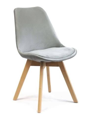 ADK Trade s.r.o. Jídelní židle Felman, světle šedá