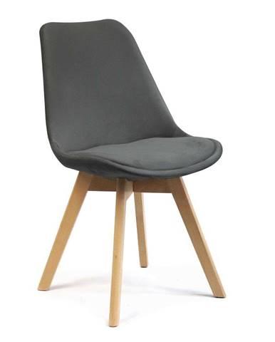 ADK Trade s.r.o. Jídelní židle Felman, tmavě šedá