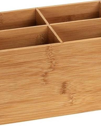 Bambusový koupelnový organizér se 4 přihrádkami Wenko Terra