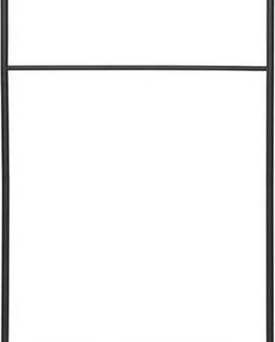 Černý držák na ručník Blomus, výška 170 cm