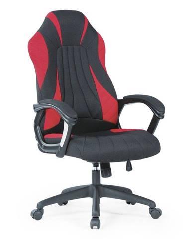 Halmar Herní židle SHERIFF, černá/červená