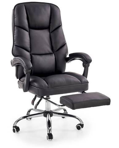 Halmar Kancelářská židle Alvin, černá