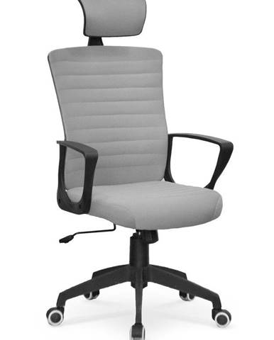 Halmar Kancelářská židle Bender, šedá
