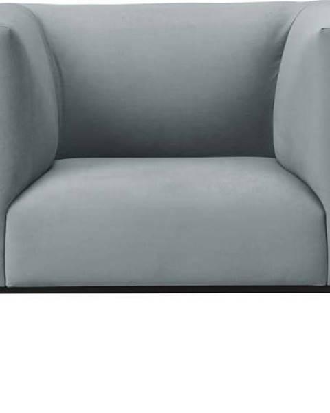 Windsor & Co Sofas Světle šedé křeslo Windsor & Co Sofas Neptune
