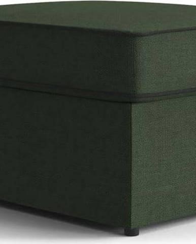 Zelená polstrovaná rozkládací lavice My Pop Design Brady, 80 cm