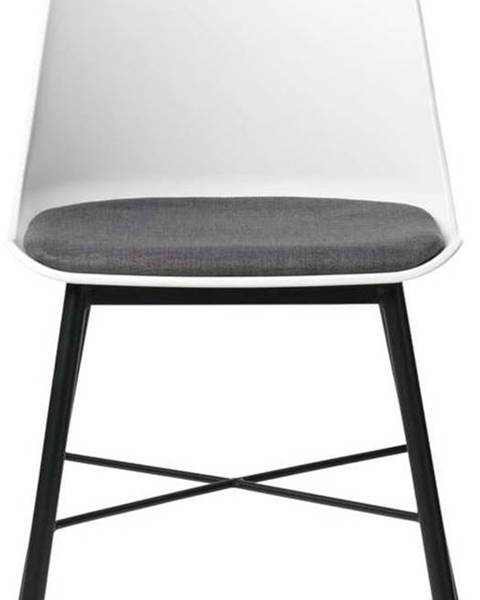 Unique Furniture Sada 2 bílo-šedých židlí Unique Furniture Whistler