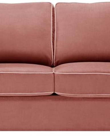 Korálově růžová rozkládací pohovka Jalouse Maison Serena