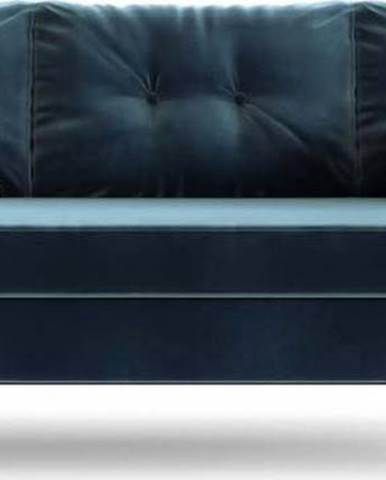 Tmavě modrá rozkládací pohovka Daniel Hechter Home Memphis