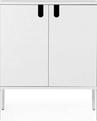 Bílá skříň Tenzo Uno, šířka 80cm