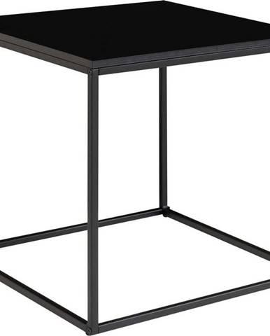 Černý odkládací stolek House Nordic Vita, 45 x 45 cm