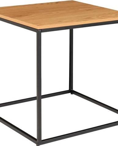 Odkládací stolek s deskou v dubovém dekoru House Nordic Vita, 45 x 45 cm