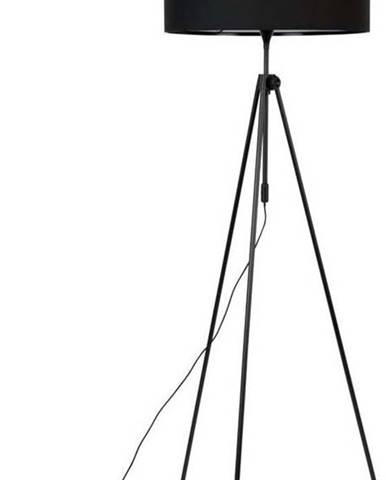 Černá stojací lampa Zuiver Lesley