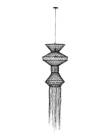 Černé závěsné svítidlo Dutchbone Tangan