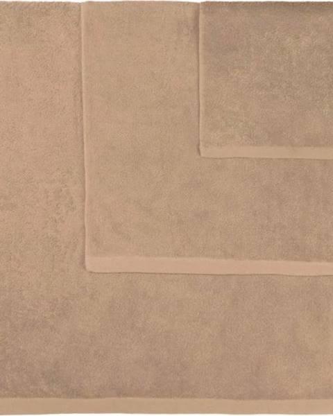 Boheme Sada 3 hnědých ručníků Artex Alfa