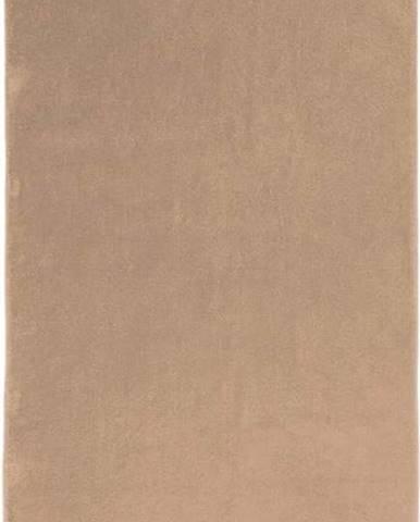 Tmavě béžová bavlněná osuška Boheme Alfa, 70 x 140 cm
