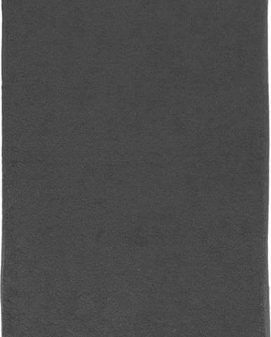 Tmavě šedý bavlněný ručník Boheme Alfa, 30 x 50 cm