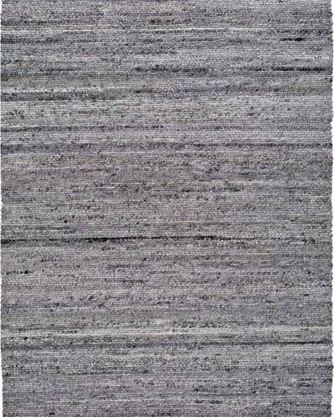 Universal Tmavě šedý koberec z recyklovaného plastu Universal Cinder, 140 x 200 cm