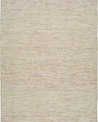 Béžový vlněný koberec Universal Kiran Liso, 120 x 170 cm