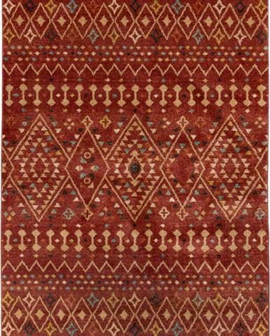 Červený koberec Flair Rugs Odine, 120 x 170 cm