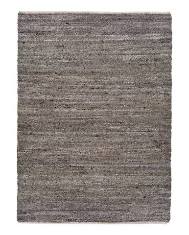 Hnědý koberec z recyklovaného plastu Universal Cinder, 160 x 230 cm