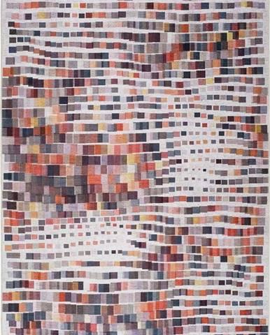 Koberec s podílem bavlny Universal Haria Cubes, 140 x 200 cm