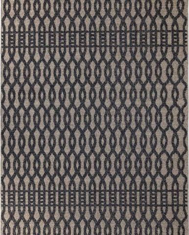 Šedý koberec Flair Rugs Greenwich, 160 x 230 cm