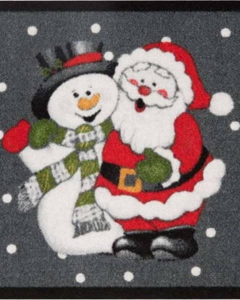 Zala Living Rohožka Hanse Home Santa and Snowman, 40x60 cm