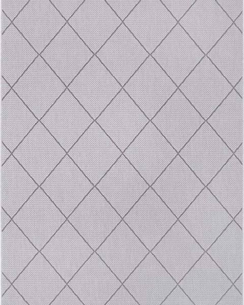 Ragami Šedý venkovní koberec Ragami London, 120 x 170 cm
