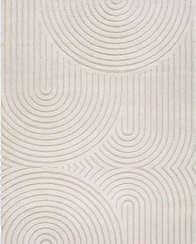 Béžový koberec Universal Yen One, 120 x 170 cm