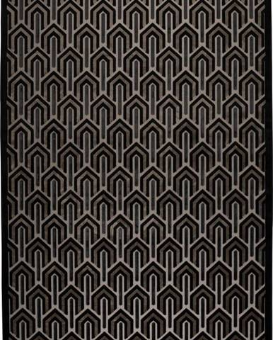 Černý koberec Zuiver Beverly,200x300cm