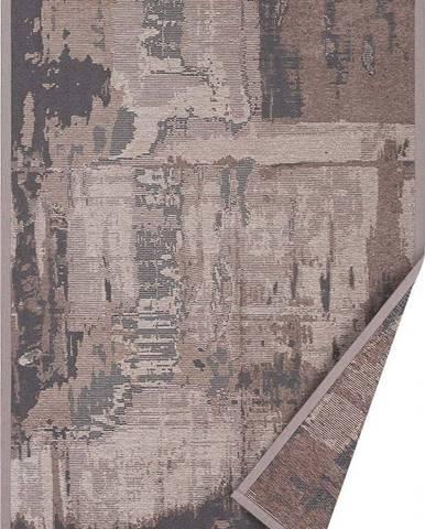 Hnědý oboustranný koberec Narma Nedrema, 70 x 140 cm