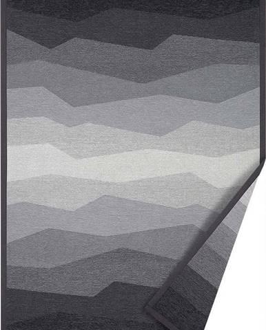 Šedý oboustranný koberec Narma Merise, 80 x 250 cm