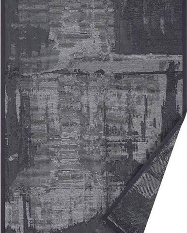 Šedý oboustranný koberec Narma Nedrema, 70 x 140 cm
