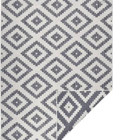 Šedý venkovní koberec Bougari Malta, 120x170 cm