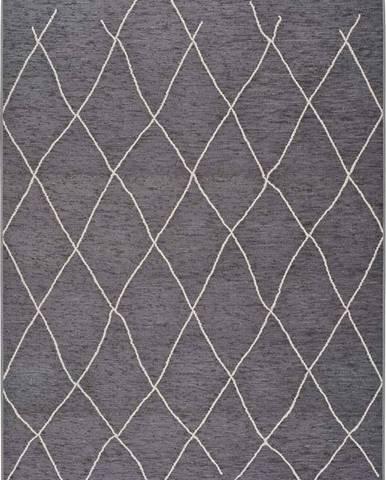 Šedý venkovní koberec Universal Sigrid, 154 x 230 cm