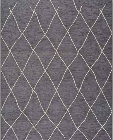 Šedý venkovní koberec Universal Sigrid, 77 x 150 cm