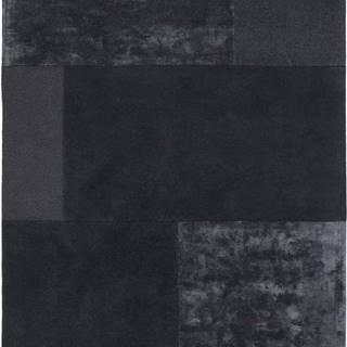 Antracitový koberec Asiatic Carpets Tate Tonal Textures, 160 x 230 cm