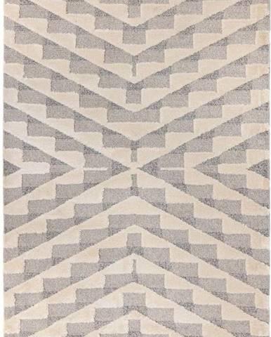 Krémově šedý koberec Flair Rugs Hampton, 120 x 170 cm