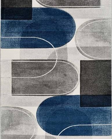 Modro-šedý koberec Universal Mya, 160 x 230 cm