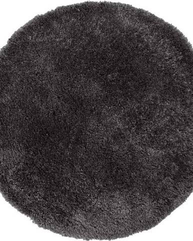 Tmavě šedý koberec Flair Rugs Sparks, ⌀ 133 cm