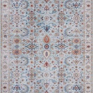 Modro-béžový koberec Nouristan Vivana, 120 x 160 cm
