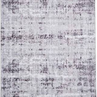 Šedý koberec Floorita Abstract, 80 x 150 cm