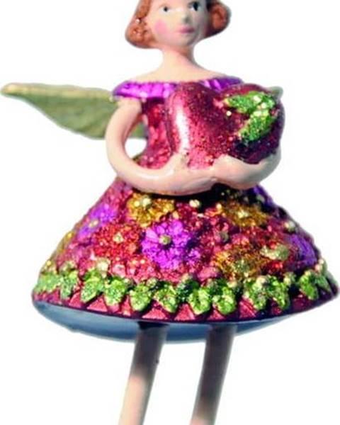 G-Bork Vánoční závěsná dekorace G-Bork Fairy with Heart