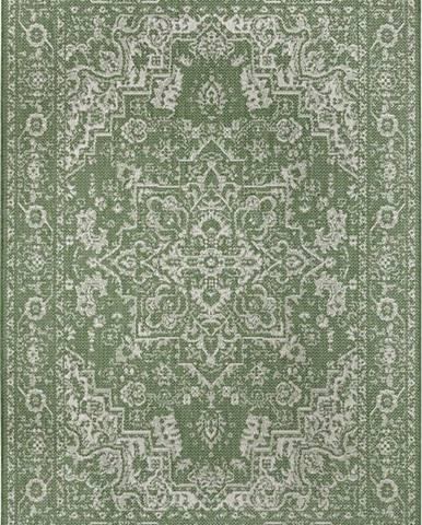Zeleno-béžový venkovní koberec Ragami Vienna, 160 x 230 cm