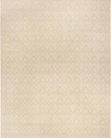 Béžový venkovní koberec Ragami Porto, 70 x 140 cm