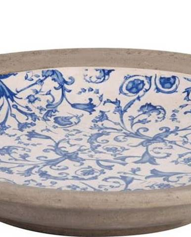 Modrobílé keramické pítko pro ptáčky Ego Dekor