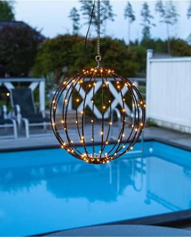 Venkovní závěsná světelná dekorace Star Trading Hanging Munty, ⌀ 30 cm