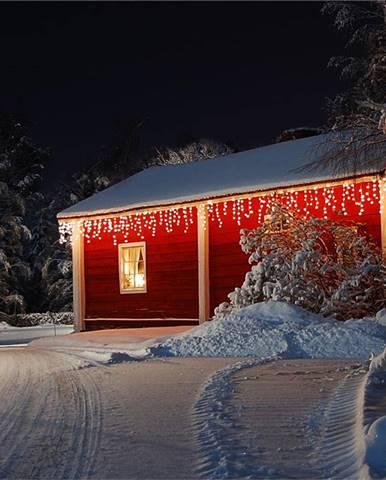 Blumfeldt Dreamhouse, teplá bílá, 24 m, 480 LED, vánoční osvětlení, padající sníh