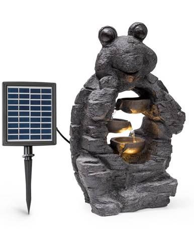 Blumfeldt Albert, solární fontána, LED, 27,5 x 50 x 19,5 cm (Š × V × H), polyresin