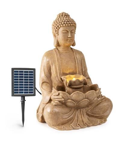 Blumfeldt Dharma, solární fontána, LED, 48 × 72 × 41 cm (Š × V × H), polyresin